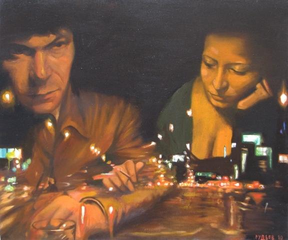 Night - III,oil,canvas,100x120