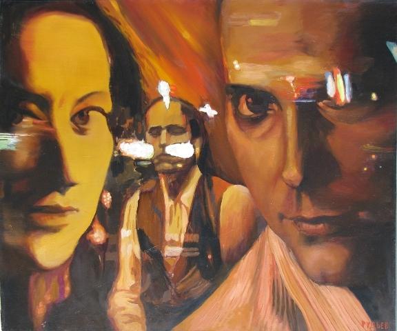 Night - I,oil,canvas,100x120