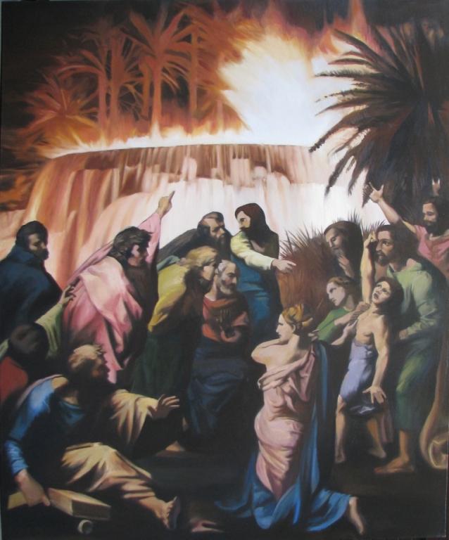 The last Hero,2010,oil,canvas,185x154