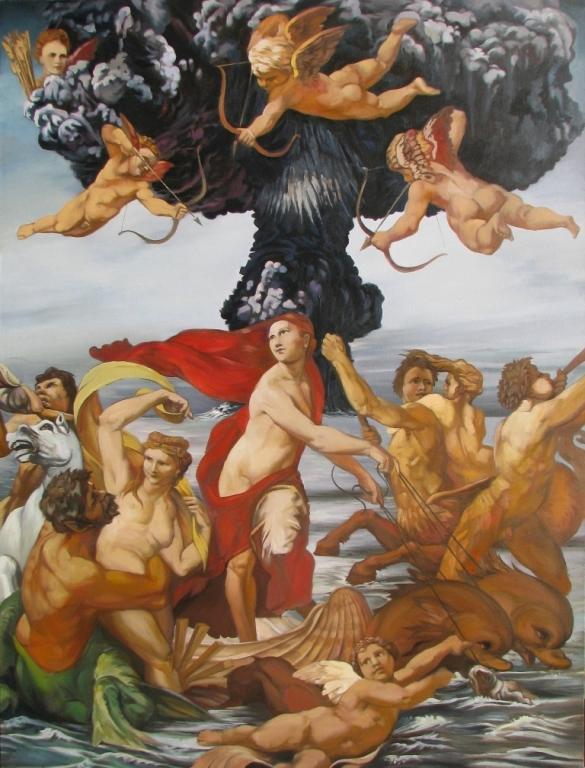 Triumph of Venus,2010,oil,canvas,210x160