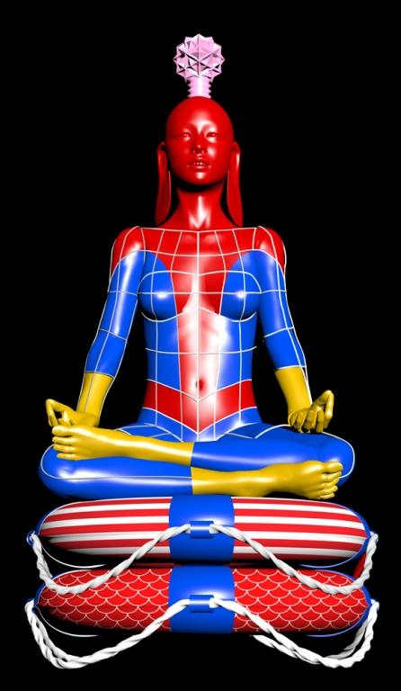 Buddah-Spiderman